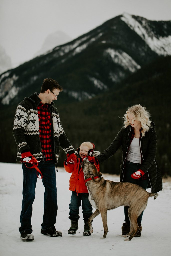 Mountain family photos