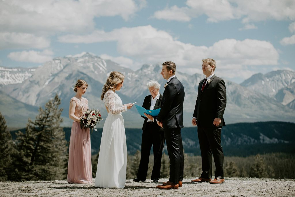 Tunnel Mountain Elopement
