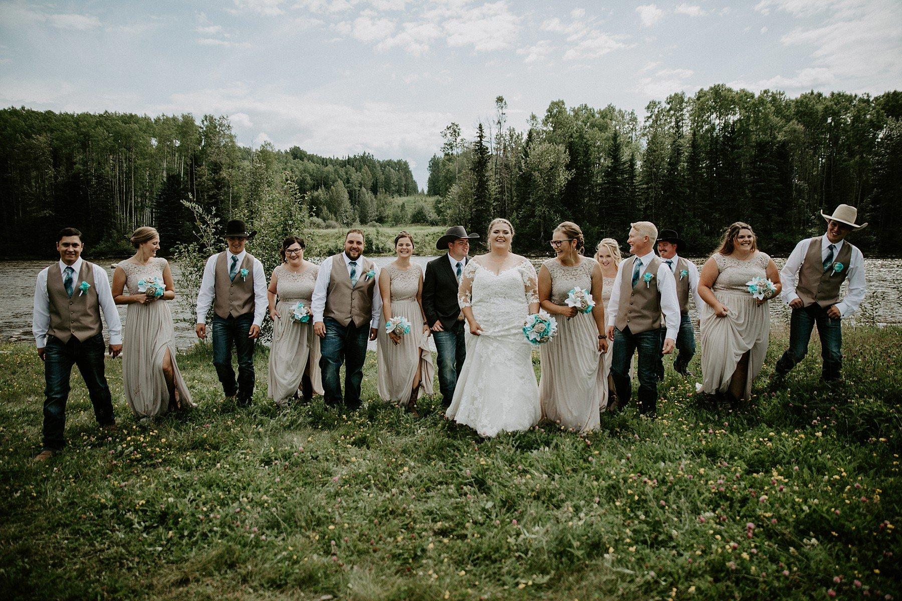 Country Wedding in Edson Alberta