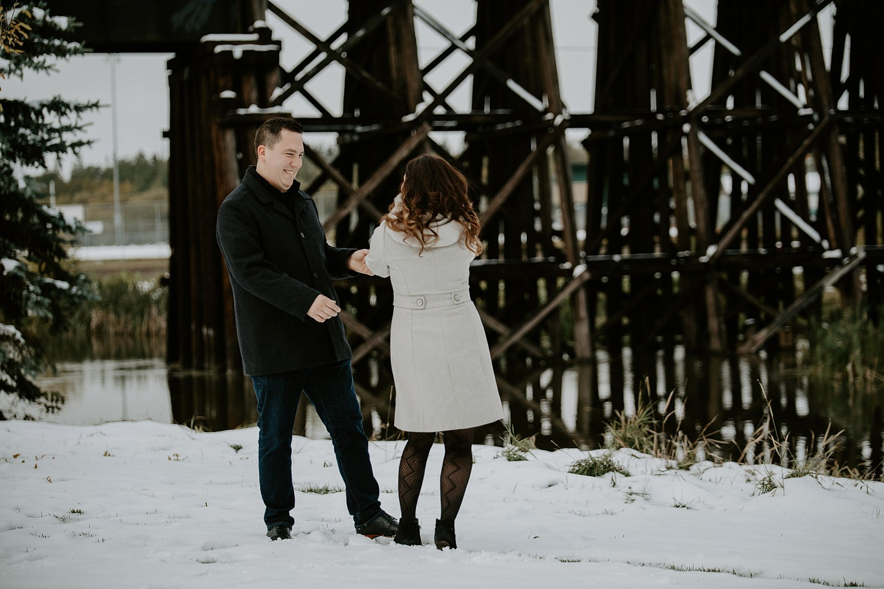 St Albert Engagement Photos