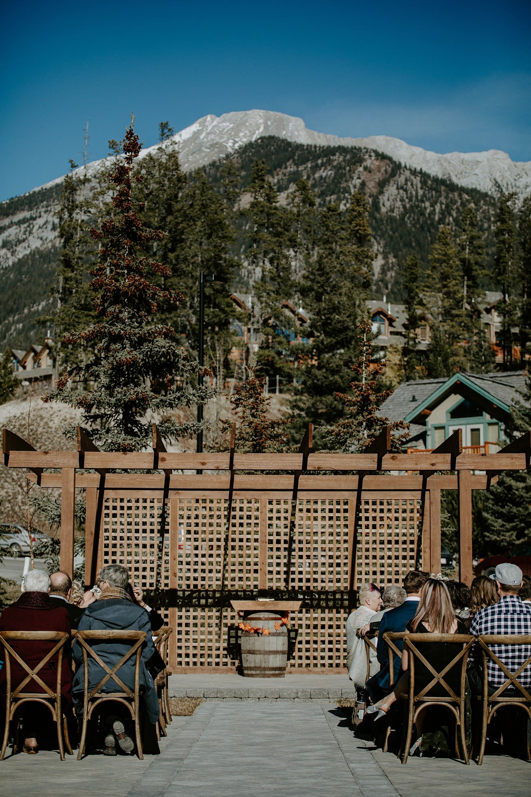 Creekside Villa Wedding in Canmore
