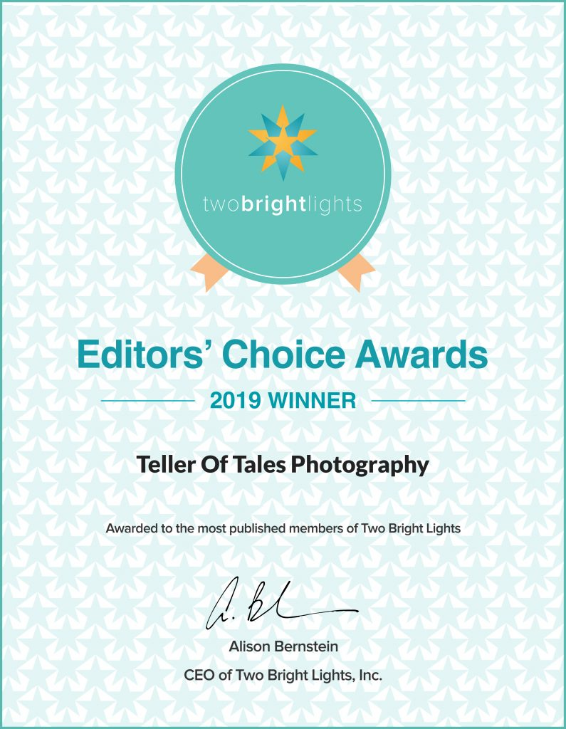 Two Bright Lights 2019 Editors Choice Award
