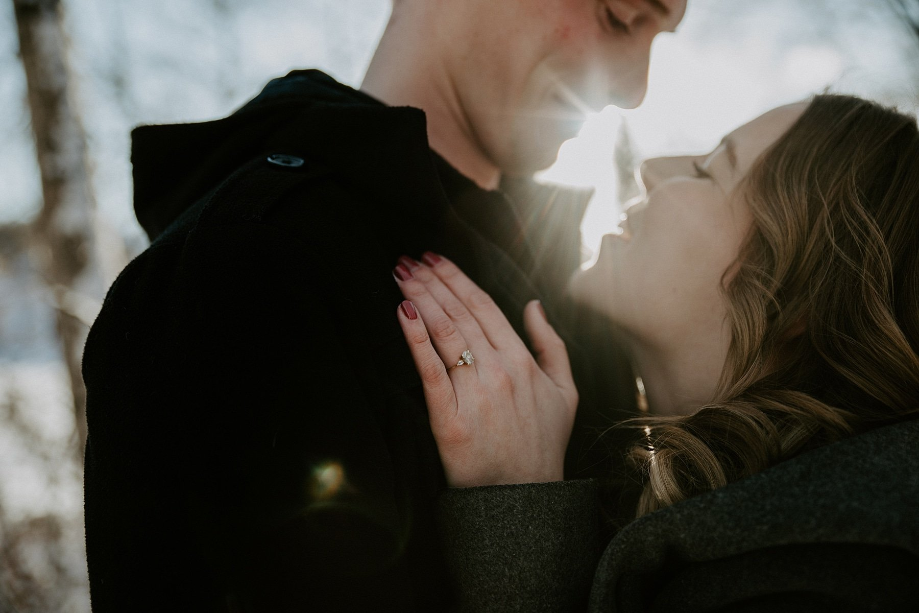 River Valley Engagement session in Edmonton