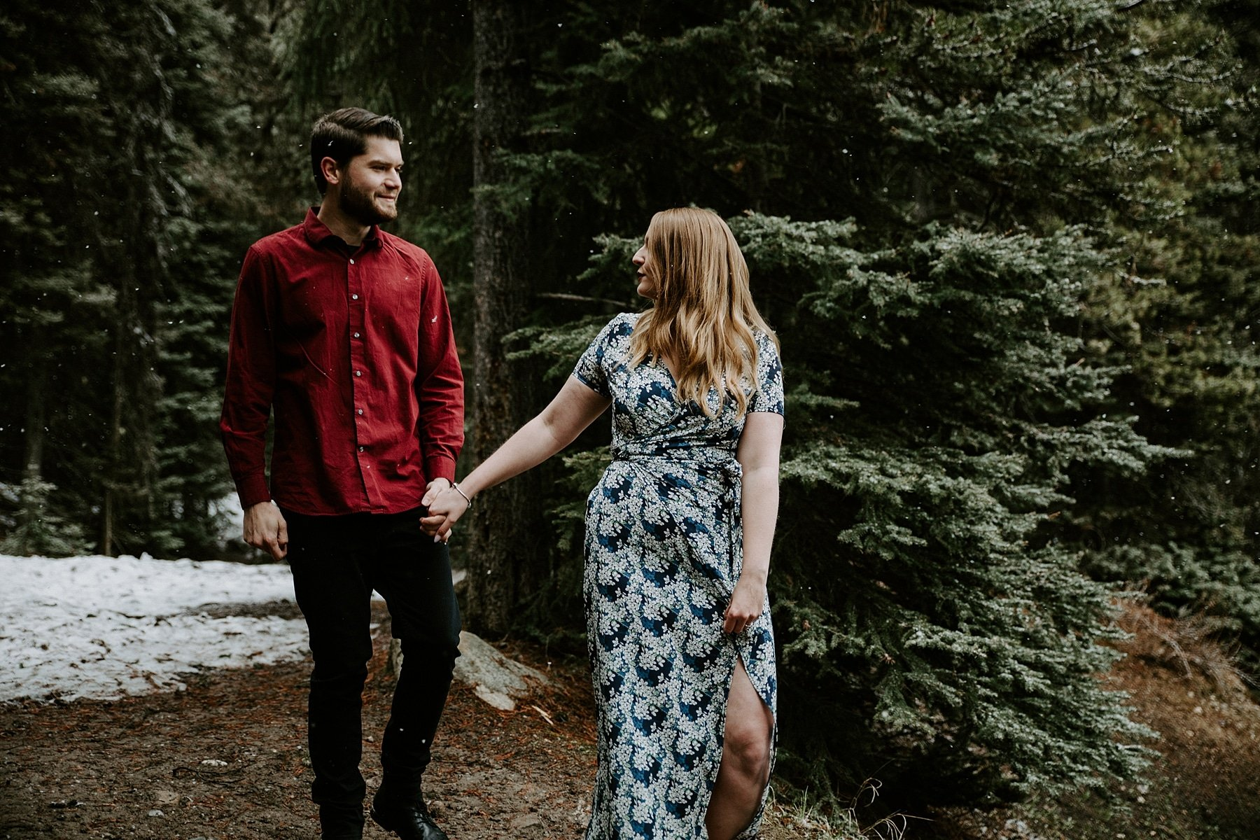 Lake Louise Engagement Photos