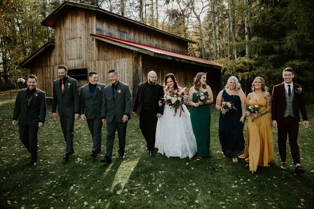 The Red Tin Barn Wedding