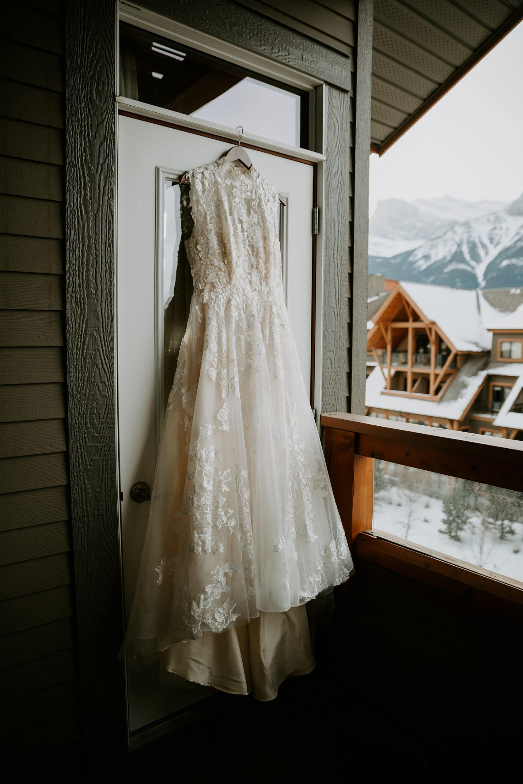 Cornerstone theatre wedding in Canmore by Teller of Tales Photography