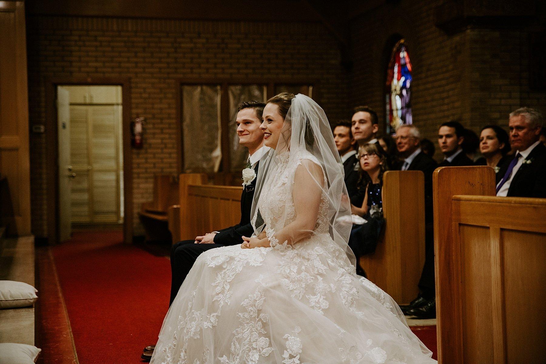 St Mary's Parish wedding in Banff