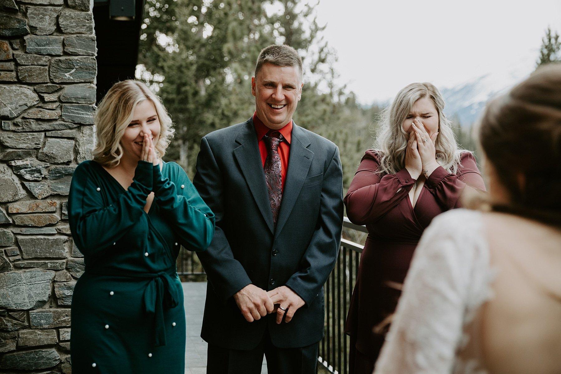Pyramid Lake Resort Wedding first look with Dad