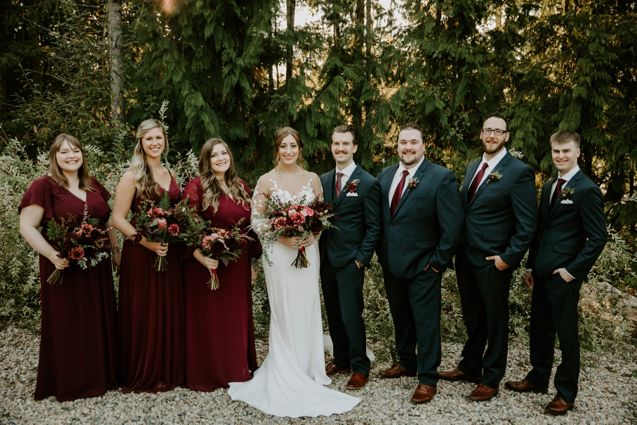 White Lake Cabins Wedding by Teller of Tales Photography