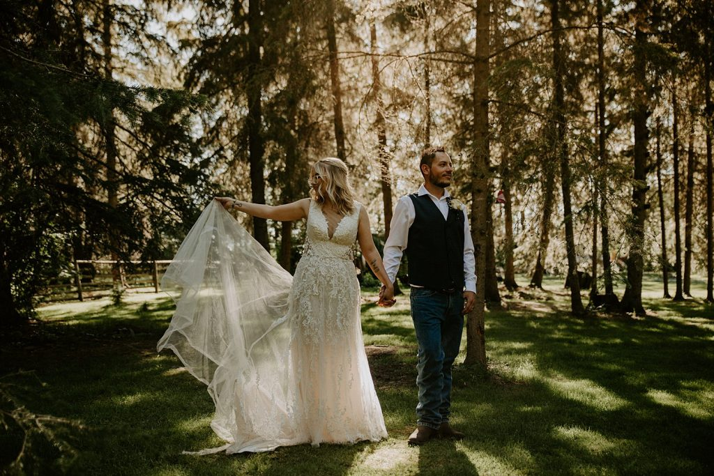 Edmonton Tent Wedding